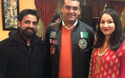 Khizera Yasir, Mrs. Pakistan USA 2018 2nd Runner up Hosts Fakhr e Alam